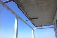 Монтаж балконной рамы