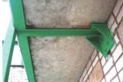 Укрепление плиты балкона