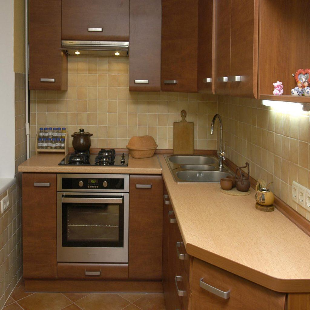 Интерьер кухни фото в чешке