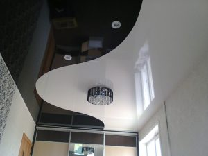 Двухуровневый потолок