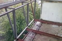Уширение балкона