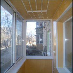 Ремонт балконов, внутреняя и внешняя обшивка