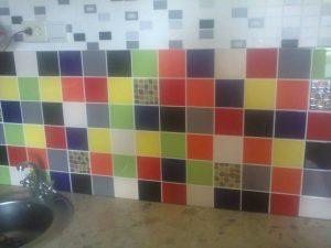 Рабочая стенка кухня