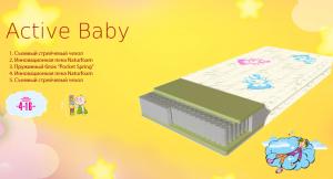 Детский матрас Active Baby