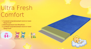 Детский матрас Ultra Fresh Comfort